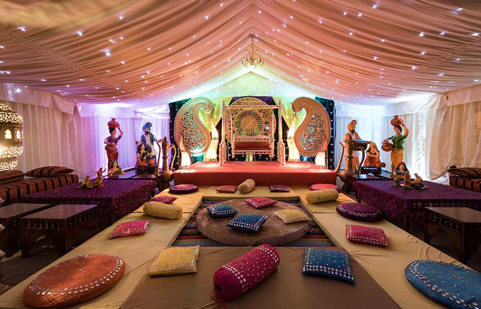 Asian Wedding Venues - Mini Marquee - Chigwell Marquees - Essex - London