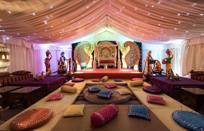 Asian Wedding Venues - Mini Marquee - Chigwell Marquees - Essex - London