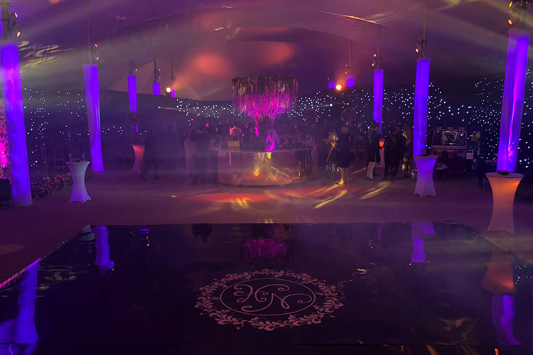 Bollywood Themed Engagement Party - Chigwell Marquees - Essex