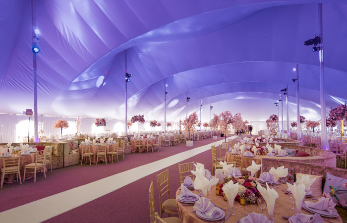 Bridal Suite - Mega Marquee - Chigwell Marquees - Essex - London