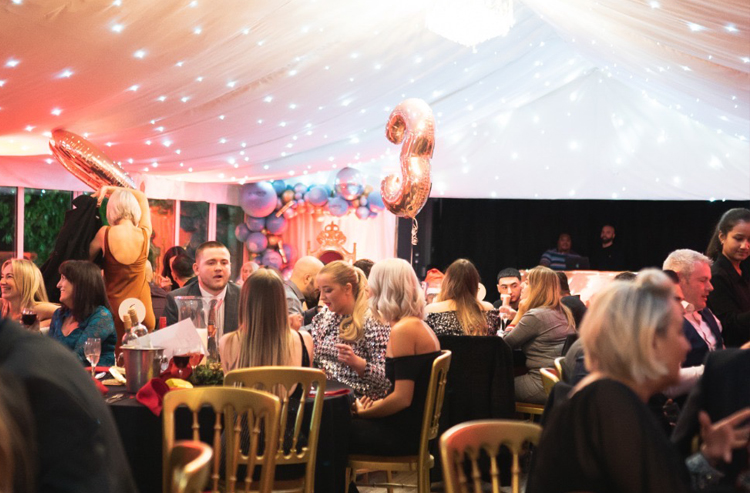 Xmas Party Venues - Chigwell - Essex - London - The Chigwell Marquees