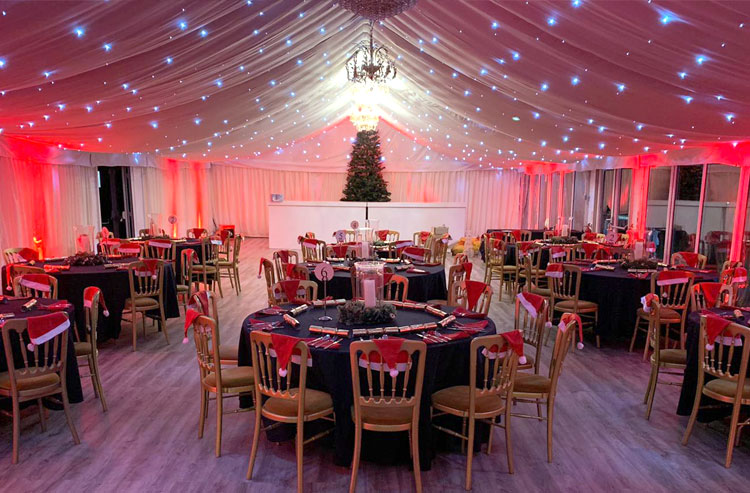 Christmas Party Venues New - Essex - London - The Chigwell Marquees