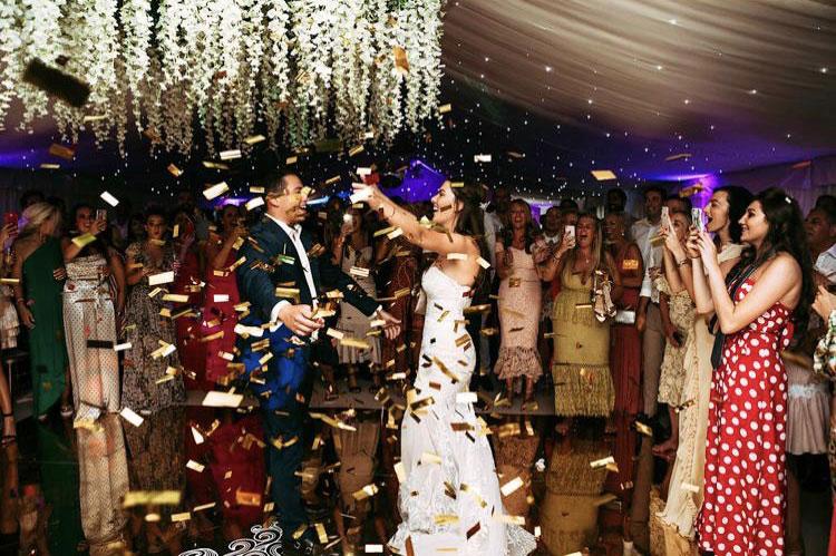 Dance Floor - Summer Wedding - Mini Marquee - Chigwell Marquees - Essex