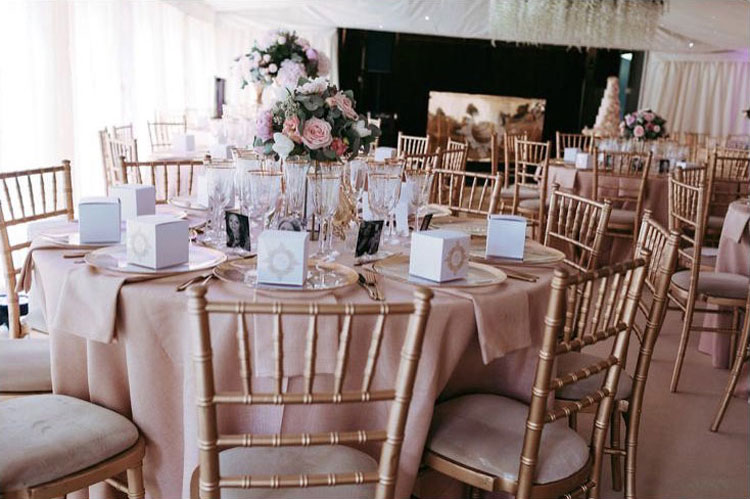 Table Setting - Summer Wedding - Mini Marquee - Chigwell Marquees - Essex