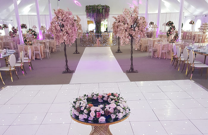Wedding Events - Mega Marquee - Chigwell Marquees - Essex - London