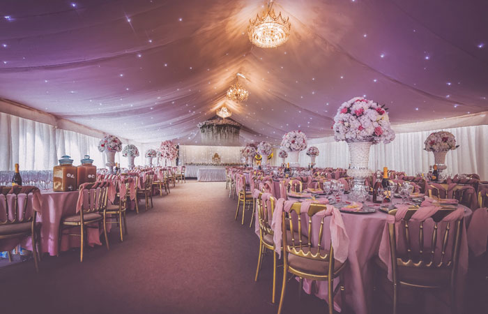 Wedding Venues - Mini Marquee - Chigwell Marquees - Essex - London